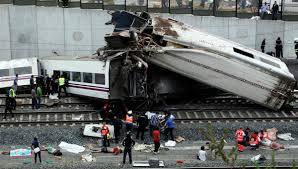 Крах потягу в Іспанії